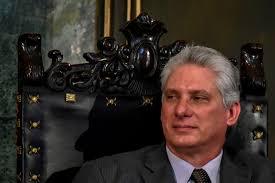 النائب  ورئيس حزب  التجمع  يرسل  خطاب تهنئة للرفيق ميجيل دياز كانل بمناسبة توليه رئاسة جمهورية كوبا الاشتراكية.