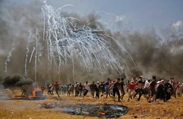 """حزب التجمع يدين المجزرة الصهيونية الجديدة ضد الشعب الفلسطيني ..  ويؤكد:داعمون لمسيرات العودة وإحياء الذكرى الـ70 """"للنكبة"""""""