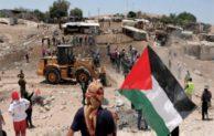 التجمع يدين العدوان  على قرية الخان الأحمر الفلسطينية