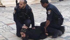 الاعتداء علي دير السلطان …. جريمة صهيونية جديدة